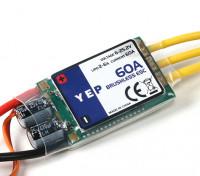 HobbyKing YEP 60A(2〜6S)SBEC无刷调速器