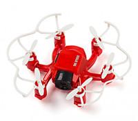 SPIDER MINI无人机4路6轴陀螺仪的3D FLY RC HEXACOPTER与200万像素高清摄像头(红)