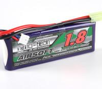 Turnigy纳米技术1800mAh的2S 20〜40℃前列AIRSOFT包