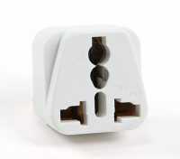 Turnigy WD-5熔融13安培的主电源适配器多 - 怀特(美国插头)
