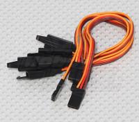 15厘米伺服铅延伸(JR)与钩26AWG(5片/袋)