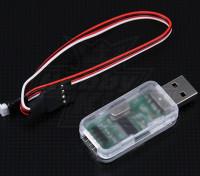 Hobbyking ZYX 3轴无副翼系统USB编程适配器