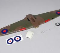 霍克飓风的Mk IIB千毫米 - 更换主翼