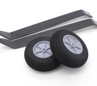 铝合金起落架带轮的配置文件类型模型(1套)