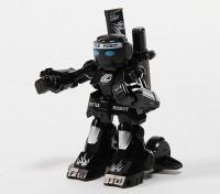2CH迷你R / C战斗机器人与充电器(黑色)