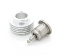 考克斯.049 -.051辉光插头适配器,具有额外的冷却(5翅)