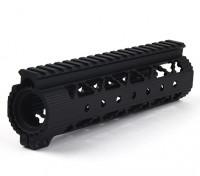 DYTAC侵略者精简版7.6英寸的铁路系统(黑色)