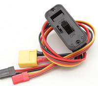 与XT60输入超前重型开关线束,内置充电插座和DSC铅