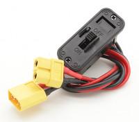 重型开关线束与XT60插头/插座和内置充电插座