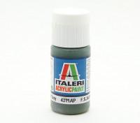 Italeri丙烯酸涂料 - 平的暗灰色板岩
