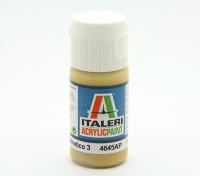 Italeri丙烯酸涂料 - 平金钻Mimetico 3