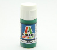 Italeri丙烯酸涂料 - 绿色光泽