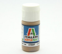 Italeri丙烯酸涂料 - 平晒得黝黑