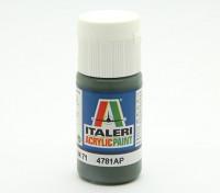 Italeri丙烯酸涂料 - DunkelgrünRLM 71