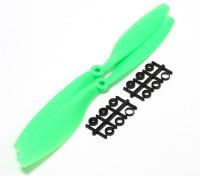 Turnigy Slowfly螺旋桨10x4.5绿色(CCW)(2个)