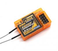 OrangeRx GR400F双叶FASST兼容4声道的2.4GHz地面接收机