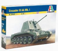 Italeri 1/35规模的十字军III AA MK.I塑料模型套件