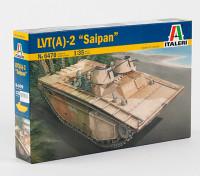 Italeri 1/35规模LVT-(A)2塞班岛塑料模型套件