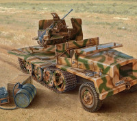 Italeri 1/35规模SWS用高射炮43塑料模型套件