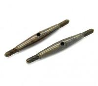 TrackStar 1/10弹簧钢花兰螺丝M3x45(2个)