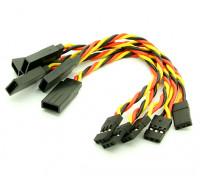 10厘米JR 22AWG双绞线延长导线M键˚F5件