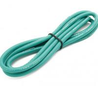 Turnigy高品质12AWG硅胶线1M线(由绿)
