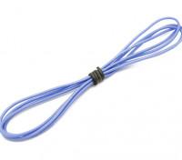 Turnigy高品质24AWG硅胶线1M线(由蓝)