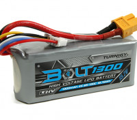 Turnigy博尔特为1300mAh 15.2V 4S店65〜130℃的高压Lipoly包(LiHV)