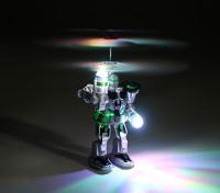 RC飞行机器人与发射器和USB充电导线