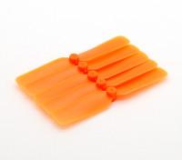 Gemfan多转子迷你道具套装65毫米CW(橙色)(5片装)