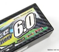 TrackStar装饰电池盖板为标准2S HARDCASE透明度碳模式(1个)