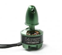 多星型V型规格1104-3600KV多转子电机(CCW)