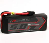 Turnigy石墨烯5000mAh的3S锂聚合物45包瓦特/ XT90