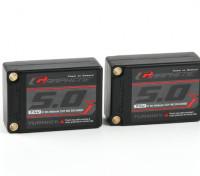 Turnigy Graphene 5000mAh 2S3P 90C Hardcase Lipo Saddle Pack (ROAR APPROVED)