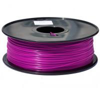 HobbyKing 3D打印机长丝1.75毫米解放军1KG阀芯(紫色)