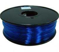 HobbyKing 3D打印机长丝1.75毫米聚碳酸酯或PC 1KG阀芯(半透明蓝色)