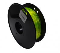 HobbyKing 3D打印机长丝1.75毫米灵活0.8KG阀芯(黄色)