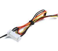 6CELL飞行包电压和为OrangeRx遥测系统温度传感器。