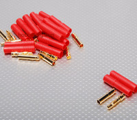 HXT4毫米金连接器W /保护贴(10片/套)