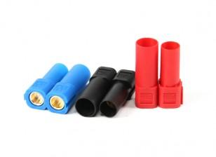 XT150连接器W /6毫米金连接器 - 红色,蓝色和黑色(5双/袋)
