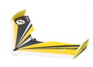 """H-King Teksumo EPP Wing 900mm (35"""") (Speed Yellow) (Kit)"""