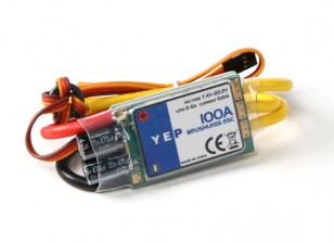 Hobbyking YEP 100A(2〜6S)SBEC无刷调速器
