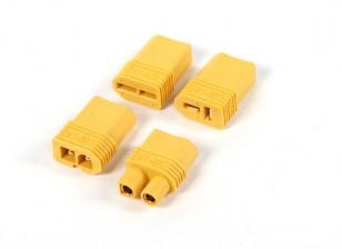 尼龙XT60多插头适配器套件(T-连接器/ EC3 /兼容/田宫)