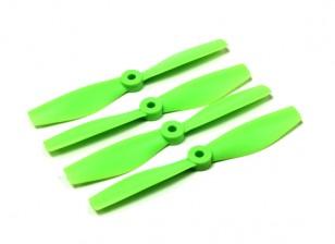 公牛的Diatone鼻子整形螺旋桨5040(CW / CCW)(绿色)(2对)