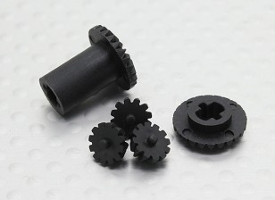 Diff.Gear 5件 -  118B,A2006,A2023T和A2035
