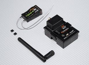 睿思凯DJT 2.4GHz的组合包JR瓦特/遥测模块与V8FR-II RX