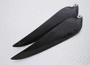 折叠碳灌注螺旋桨11x8黑色(CCW)(1个)