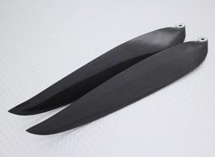 折叠碳灌注螺旋桨14x8黑色(CCW)(1个)