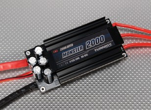 Turnigy怪物-200A 2000无刷4-12S ESC