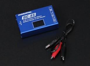 Hobbyking®DC-4S平衡充电器和电池检查30瓦特2秒〜4秒